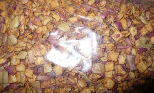 Jabłka suszone 1kg, chipsy, susz, zakąska, karma