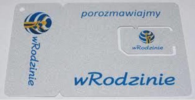 Karta sim wRodzinie, starter, łatwy numer dla firmy 720 55 00 55