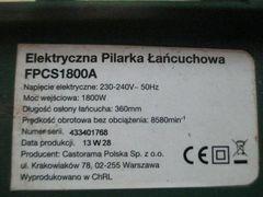 Piła łańcuchowa elektryczna 1800W 2000W