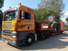 Transport Maszyn Budowlanych Laweta 24 Ton Poznan