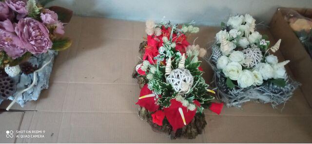 Stroiki na cmentarz ręcznie wykonane